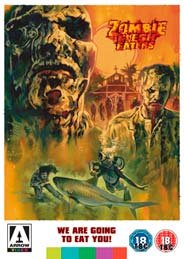 Zombie Flesh Eaters Arrow DVD